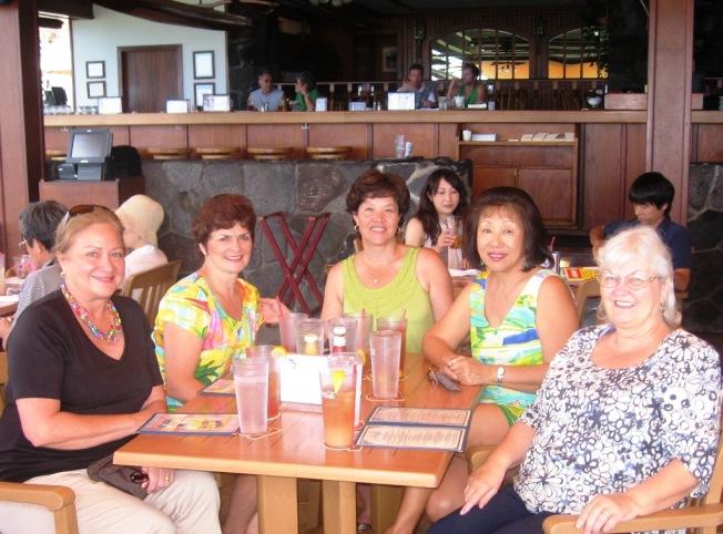 L-R: Jamsie, Terri, Sue, Mei, Carolyn