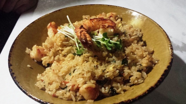 Shrimp & Basil Fried Rice